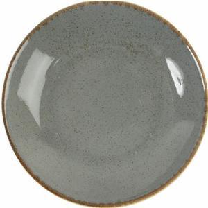Πιάτο Πορσελάνη Βαθύ Σκούρο Γκρι 21cm Seasons Porland 197621DG