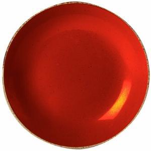 Πιάτο Πορσελάνη Βαθύ Κόκκινο 21cm Season Porland 197621R