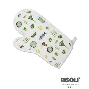 Γάντι Κουζίνας 100% cotton Risoli- Dr Green 20090/01DR