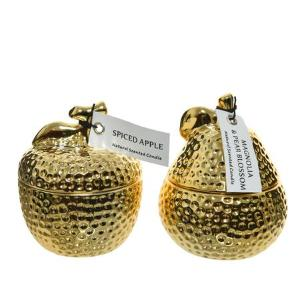 Κέρί Αρωματικό κεραμικό χρυσό φρούτο μεγάλο  205700 Kaemingk