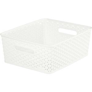 Καλάθι Πλαστικό Λευκό 35.5x29.6x13.3εκ. MyStyle Curver OWH885 21.96852