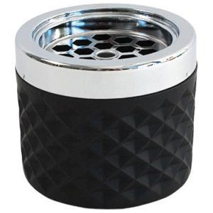 Αντιανεμικό Σταχτοδοχείο Γυαλί/Χρώμιο Μαύρο 10 cm | 7 cm 01049-BLK APS 28.00162