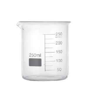 Δοχείο Κυλινδρικό Μεζούρα Φαρδύ Lab 250ml 01308 Hendi 28.00213
