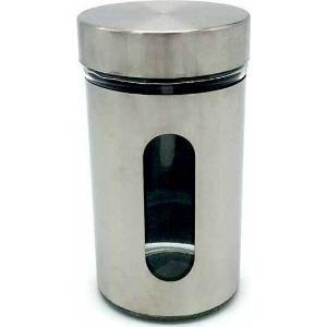 Βάζο Γυάλινο Como Inox 8,5x15,5cm  Homestyle  2895152108