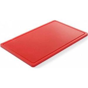Πλάκα Κοπής Πολυαιθυλενίου Κόκκινη 32.5x26.5x1.2cm 826119 Hendi 30.40699