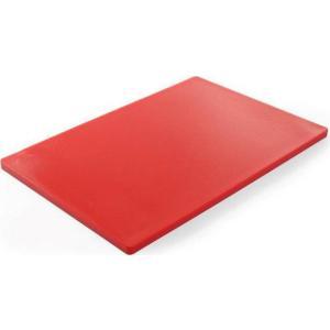 Πλάκα Κοπής Πολυαιθυλενίου Κόκκινη 45χ30εκ.825525 Hendi 30.40174
