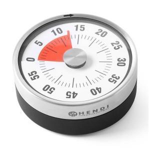 Αναλογικό Χρονόμετρο Κουζίνας Μαγνητικό 60 Λεπτά 582015 Hendi 30.40719