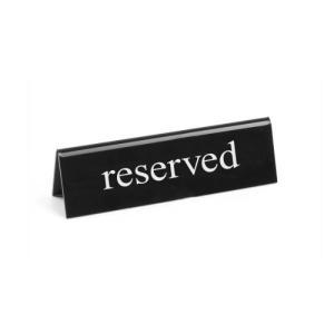 """Επιτραπέζιο Σταντ """"Reserved"""" 13x3,5x4εκ. 663462 Hendi 30.41225"""