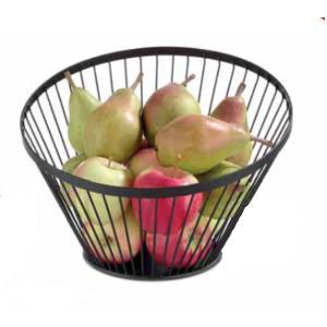 Καλάφι Φρούτων Μεταλλικό Μαύρο Λοξό 30χ25εκ. 427071 Hendi 30.41953