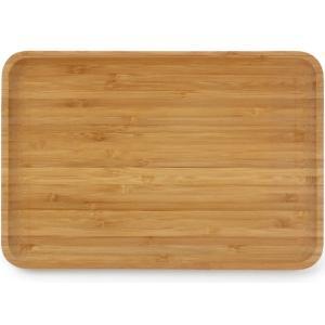 Δίσκος Σερβιρίσματος Απο Ξύλο Μπαμπού Με Χείλος 24x16εκ. Cosy & Trendy 709002 30.71091
