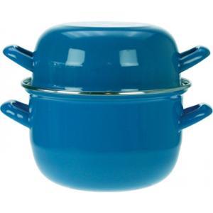 Κατσαρολάκι Εμαγιέ για Μύδια 2,8Lt 18cm Blue 111.018B Cοsy & Trendy 30.80031