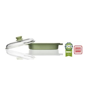 Vapor Grill με καπάκι Dr Green Risoli 91QIN/26