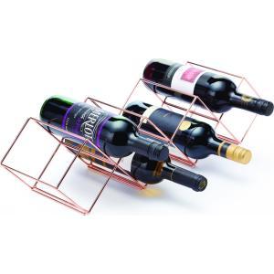 Κάβα Κρασιών Ανοξείδωτη 7 Μπουκαλιών 58x14.5x14.5cm Kitchen Craft 35.02481