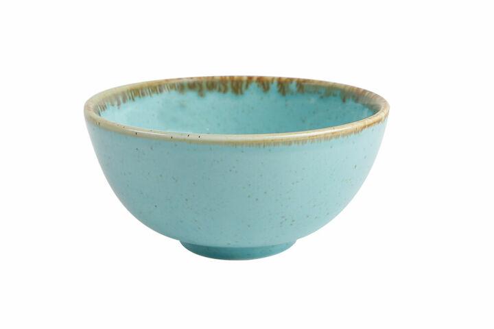 Μπoλ  Τυρκουάζ  Στρογγυλό 13εκ.x6εκ πορσελάνινο  ''Season Turquoise Bowl'' Porland 362913T