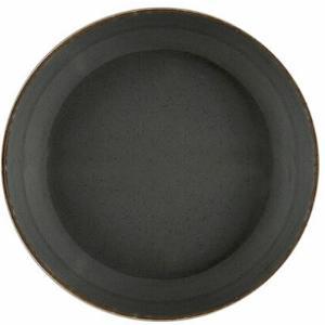 Πιάτο Πορσελάνη Βαθύ Σκούρο Γκρι 22cm Seasons Porland 368122DG