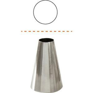 Μύτη Κορνέ 10mm Με Ομαλά Χείλη 18/10 Cutlery Pro 39-210604
