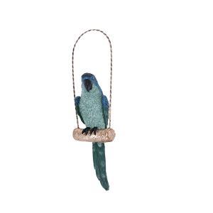 Διακοσμητικό Παπαγάλος κρεμαστός 28x9x6cm Σε 2 Χρώματα JK Home Decoration 479175