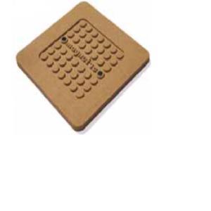 Σουπλά Κατσαρόλας Φελλού Αντιπυρική Τετράγωνη Με Μαγνήτη 20x20cm|1cm Hendi 48.00007
