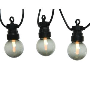 Γιρλάντα Φωτισμού με 20 Λαμπτήρες LED Smokey Grey Kaemingk 490172
