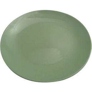 Πιάτο Ρηχό Φαγητού Κεραμικό 27εκ. Πράσινο Happyware Alfa 51.10001