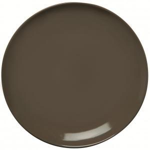 Πιάτο Ρηχό Φαγητού 27εκ. Κεραμικό Καφέ HappyWare Juliet 51.10004