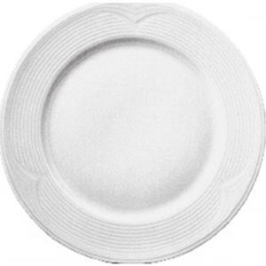 Πιάτο Ρηχό Στρογγυλό 26cm Άσπρο Πορσελάνης Saturn Gural 52.52508