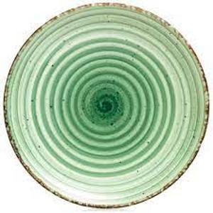Πιάτο Ρηχό Πορσελάνης Πράσινο 21εκ. Green Avanos NBNEO21DU50YS Gural 52.85070