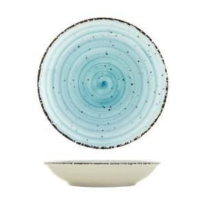 Πιάτο Βαθύ 20cm Πορσελάνης Turquoise Avanos Gural 52.85103
