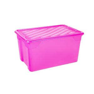 Κουτί Αποθήκευσης Βαθύ 67lt με Καπάκι 60x40x31cm Homeplast Α00299