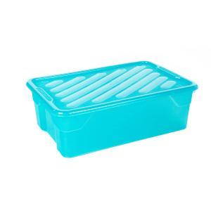 Κουτί Αποθήκευσης 43lt με Καπάκι 60x40x19cm Homeplast Α00298