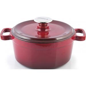 Κατσαρόλα Μαντεμένια Κόκκινη 20 cm (2,5 lt) SIL1120 Silver 53.10002