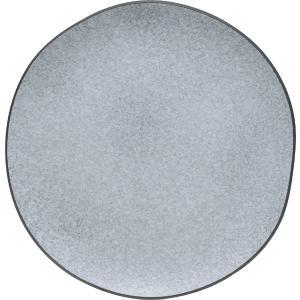 Πιάτο Ρηχό Πορσελάνης Granite Γκρι 26x25x2cm HFA 5412021