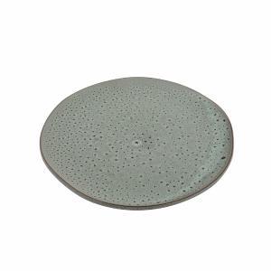 Πιάτο Ρηχό Πορσελάνης Granite Glazed Εκρού 26x25x2cm HFA 5412023