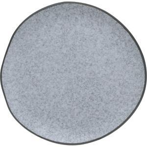 Πιάτο Φρούτου Πορσελάνης Granite Γκρι 18,7×18,3×2,3cm HFA 5413021