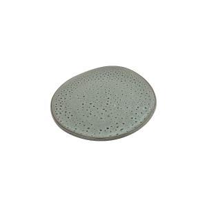 Πιάτο Φρούτου Πορσελάνης Granite Glazed Εκρού 18,7×18,3×2,3cm HFA 5413023