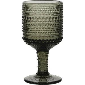 Ποτήρι Drops κολωνάτο χαμηλό πόδι 215ml Grey HFA 5423507