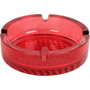 Σταχτοδοχείο Κόκκινο 10,5cm Coloured Uniglass 60056CF15
