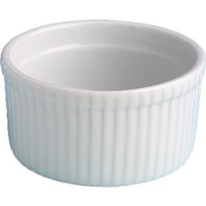 Μπολ Ramekin λευκή πορσελάνη 7x4cm 61-1056