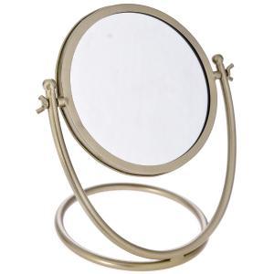 Καθρέφτης Χρυσός Επιτραπέζιος 25x18x27cm AI Decoration 65685