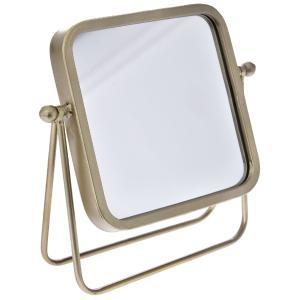 Καθρέφτης Χρυσός Επιστραπέζιος 26x10x26cm AI Decoration 65686