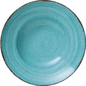 Πιάτο Βαθύ Στρογγυλό Ø27cm Γαλάζιο Πορσελάνης Tiffany GTSA 66-7127