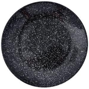Πιάτο Γλύκου Κεραμικό Μαύρο Φ20cm AI Decoration 69042