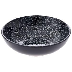 Πιάτο Βαθύ Kεραμικό Mαύρο Φ18cm AI Decoration 69043