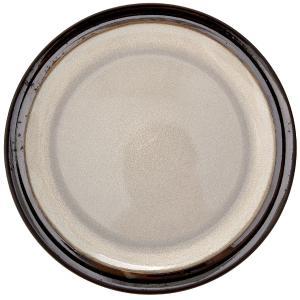 Πιάτο Με Σχέδιο Κεραμικό Κρεμ/Γκρι Φ21cm AI Decoration 69407