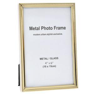 Κορνίζα Σκαλιστό Χρυσό Μέταλλο 10x15cm AI Decoration 69618