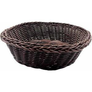 Ψωμιέρα Στρογγυλή Ψάθινη Καφέ 20 cm | 8 cm GTSA 76-1012