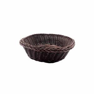 Ψωμιέρα Στρογγυλή Καφέ 20χ8εκ. GTSA 76-1012