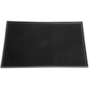 Μπαρ ματ λαστιχένιο μάυρο 45x31x1cm GTSA 79-3121