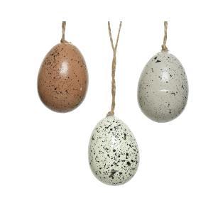 Κρεμαστά Αυγά απο Αφρώδη Υλίκο σε 3 χρώματα Kaemingk 806111