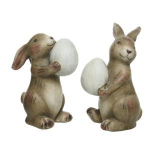 Διακοσμητικά Κουνελάκια με Αυγά Kaemingk 820558